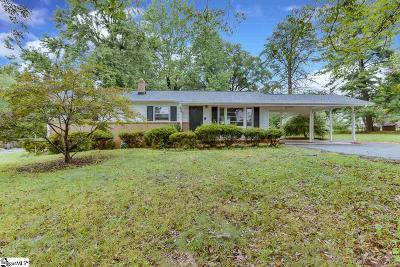 Greenville County Single Family Home For Sale: 4 Arlene