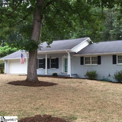 Travelers Rest Single Family Home For Sale: 100 Alta Vista
