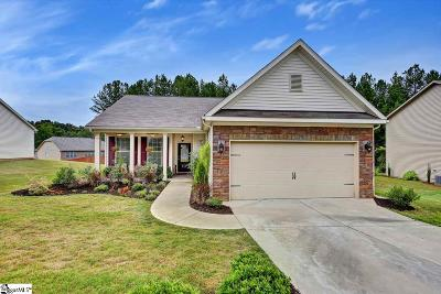 Fountain Inn Single Family Home Contingency Contract: 511 Crest Hill