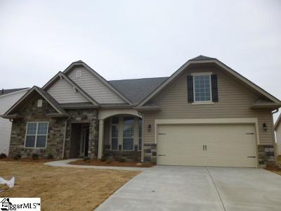 Inman Single Family Home For Sale: 675 Ridgeville Crossing #Lot 167