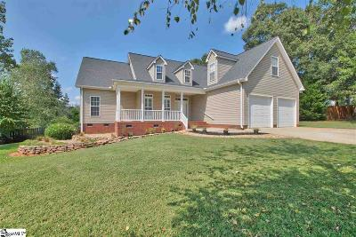 Fountain Inn Single Family Home Contingency Contract: 204 Forked Oak