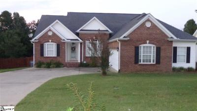 Greenville County Single Family Home For Sale: 404 Winding Brook