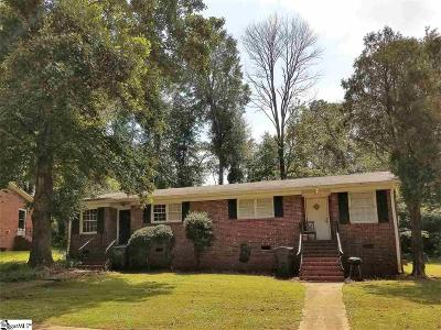 Greenville Multi Family Home For Sale: Berea Forest