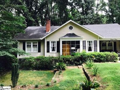 Greenville Single Family Home For Sale: 33 Wedgewood