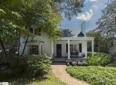 Greenville Single Family Home For Sale: 110 Wilderness