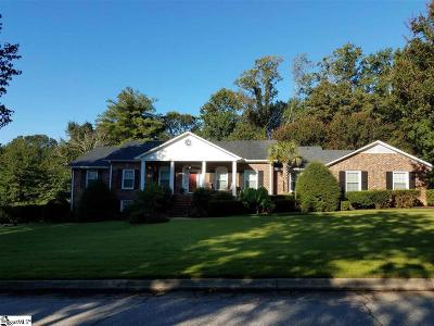 Greenville Single Family Home Contingency Contract: 302 Foxcroft