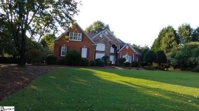Greer Single Family Home For Sale: 126 Tupelo