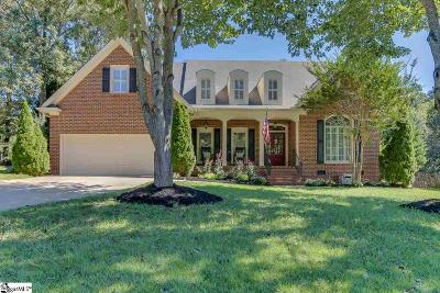 Simpsonville Single Family Home For Sale: 121 Glenbriar