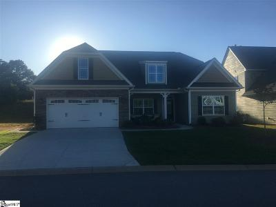 Simpsonville Single Family Home For Sale: 204 Hearthwood
