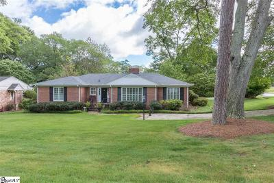 Greenville County Single Family Home Contingency Contract: 219 Boxwood