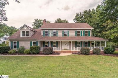 Greenville County Single Family Home Contingency Contract: 519 Windward