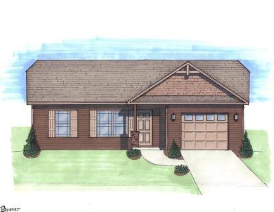 Boiling Springs Single Family Home For Sale: 613 Ivywood #Lot 12