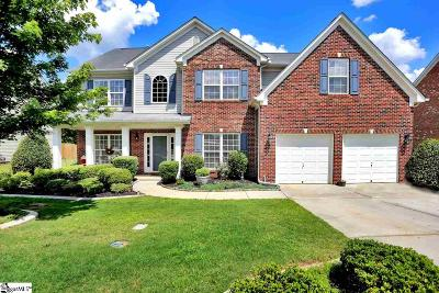 Simpsonville Single Family Home For Sale: 168 Heritage Point