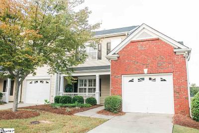 Greenville County Condo/Townhouse For Sale: 108 Pine Walk