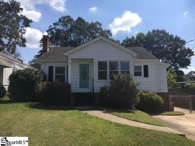 Greenville SC Single Family Home Contingency Contract: $210,000