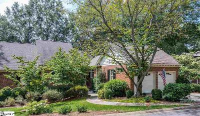 Greenville SC Condo/Townhouse For Sale: $550,000