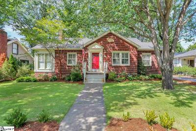Greenville SC Single Family Home For Sale: $410,000