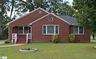 Greenville SC Single Family Home For Sale: $154,900