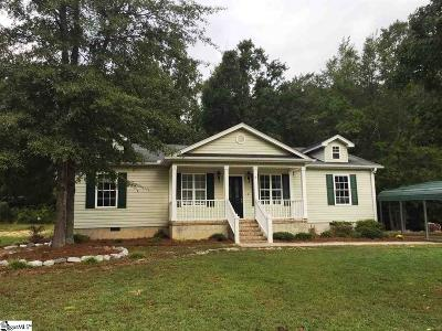 Fountain Inn Single Family Home Contingency Contract: 105 Lakeview