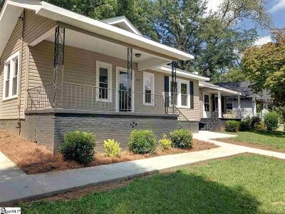 Greenville County Single Family Home For Sale: 115 Converse