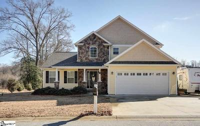 Greer Single Family Home For Sale: 19 Jaden