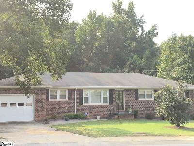 Mauldin Single Family Home Contingency Contract: 100 Brookbend