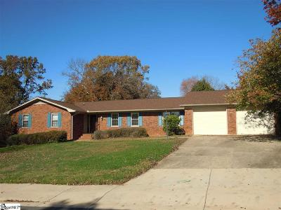 Taylors Single Family Home For Sale: 25 Gary