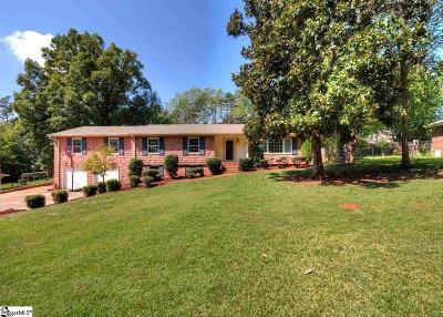 Greenville County Single Family Home For Sale: 15 Starsdale