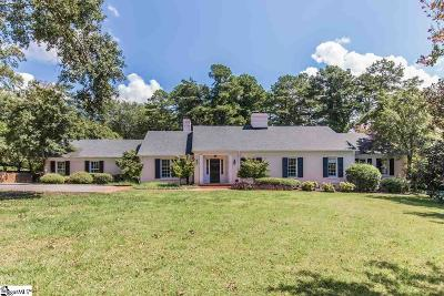 Greenville Single Family Home For Sale: 225 Foot Hills