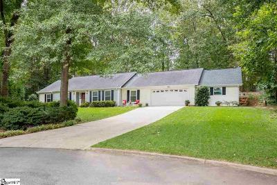 Greenville County Single Family Home For Sale: 4 Dove Tree
