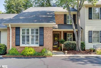 Greenville County Condo/Townhouse For Sale: 110 McDaniel Greene