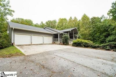 Greenville Single Family Home For Sale: 4015 State Park