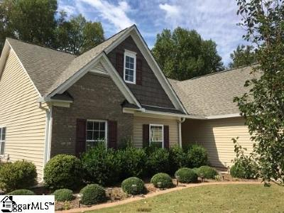 Simpsonville Single Family Home For Sale: 236 Heathermoor