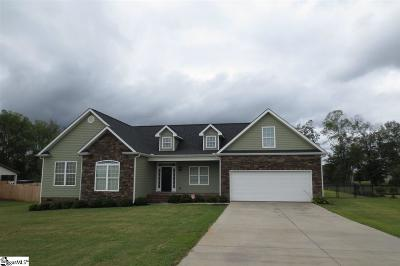 Inman Single Family Home For Sale: 411 Ocala