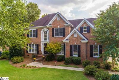 Simpsonville Single Family Home For Sale: 9 Hickory Twig