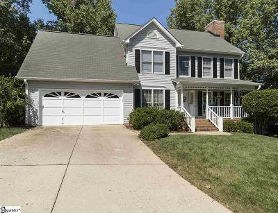 Greenville County Single Family Home For Sale: 405 Bright Water