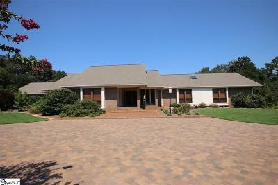 Greenville Single Family Home For Sale: 175 Foot Hills