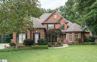 Simpsonville Single Family Home Contingency Contract: 205 Sycamore Ridge