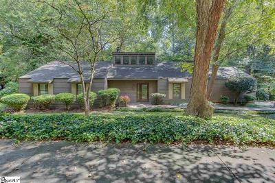 Greenville County Single Family Home For Sale: 27 Forest