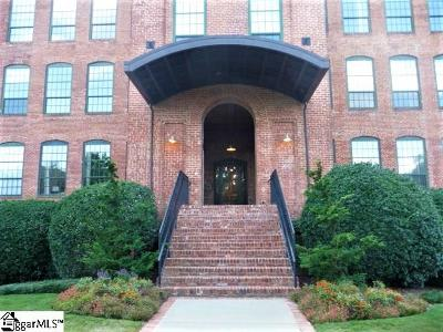 Greenville County Condo/Townhouse For Sale: 400 Mills #Unit #21