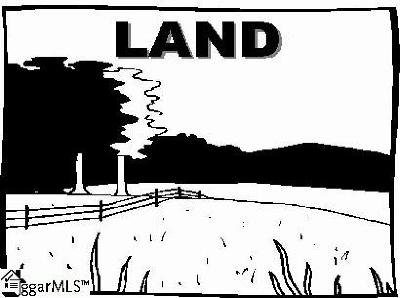 Greer Residential Lots & Land Contingency Contract: 1486 Henderson Gap