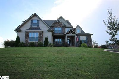 Greer Single Family Home For Sale: 15 Hunters Landing