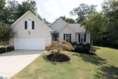 Mauldin Single Family Home Contingency Contract: 5 Sutters Glen