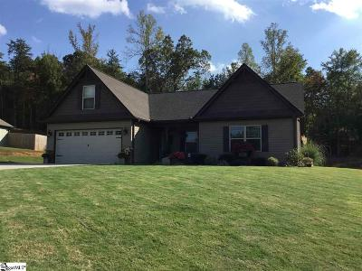 Spartanburg Single Family Home For Sale: 834 Old Canaan