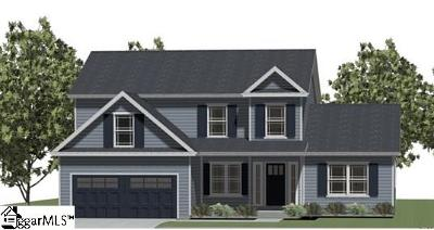Pelzer Single Family Home Contingency Contract: 815 Rogers #Lot 3