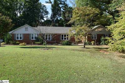 Spartanburg Single Family Home For Sale: 711 Meadowbrook