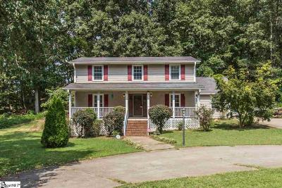 Piedmont Single Family Home For Sale: 121 Donna Marie