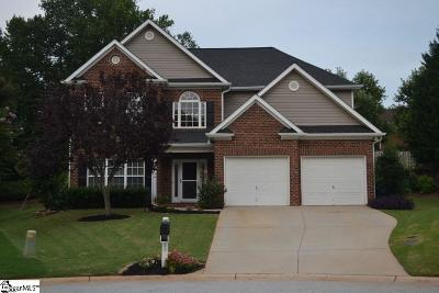Greer Single Family Home For Sale: 614 Meadow Grove