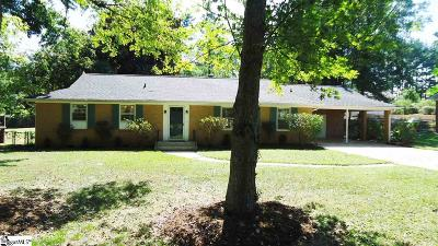 Boiling Springs Single Family Home Contingency Contract: 110 Coldstream