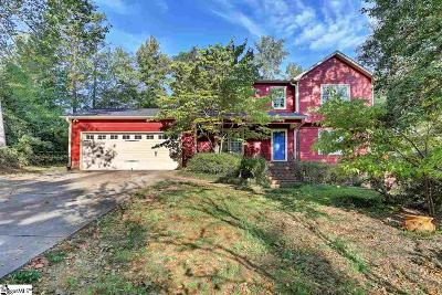 Taylors Single Family Home For Sale: 16 Pine View